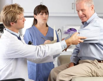 arthroscopic elbow surgery examination